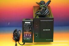 Netgear ReadyNAS Duo RND2000 NAS Server Multimedia Video 1x 500GB WD Festplatte