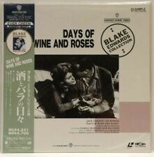 Days Of Wine And Roses Japanese Laserdisc Warner Bros New and Sealed