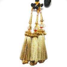Onex Paranda Parandi Braid Tassles Hair Accessory (Golden)