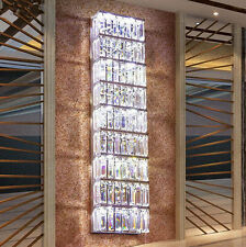 Hallway Large crystal wall Lamp sconce living room modern Led wall light fixture