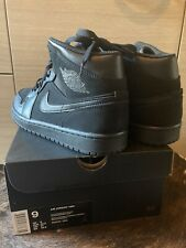 Nike Air Jordan Mid 'Black' Size UK8,EU42,5.