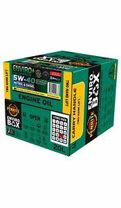 Penrite Enviro+ 5W-40 Engine Oil Enviro Box 20L fits Alfa Romeo Brera 1.7 TBi...