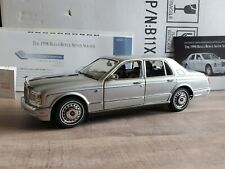 Franklin Mint 1998 Rolls-Royce Silver Seraph 1:24 Scale Diecast Model Car 1999