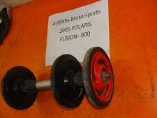05 POLARIS Fusion 900 EFI 06? IQ 700 RED REAR TRACK AXLE WHEELS SET WHEEL 600