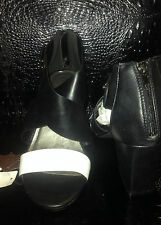 BEAUTIFUL AUTOGRAPH BLACK AND WHITE CONTRAST  HEELS  BNWT SZ 10 RRP $79.95