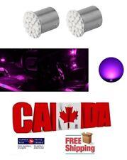 2x 1156 BA15S Pink Purple LED 22SMD 5630 Car Reverse Turn Signal Lights DRL