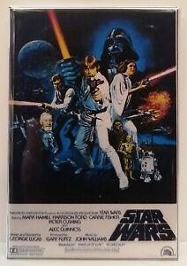 "Star Wars MAGNET 2""x3"" Refrigerator Locker Movie Poster Image 4"