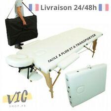 Table Massage Professionnel Pliante Légère Kiné Transportable Esthétique Reiki