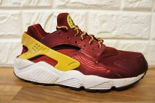 2a4433198b2ec Nike Air Huarache Run Womens Size 5 Red Gold White Running Gym Ladies  Trainers