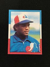 TIM RAINES ODD BALL 1982 TOPPS MINI STICKER EXPOS BASEBALL CARD