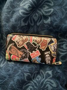 CUSTOM MADE Star Wars Sticker WALLET! This Is Not Loungefly!