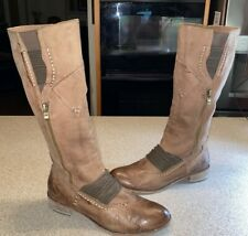 Anthropologie leather boots everybody by BZ Moda US10 EUR 41 RP250