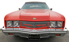 1973 Chevy Caprice Impala chrome grill triple weave mesh grille old school 3pc