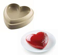 Stampo tortiera batticuore silicone Silikomart forno torte torta cuore 3D Rotex