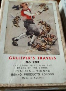 PIATNIK - Vintage -Gulliver's Travel Story Largecards No 293