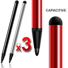 3Pcs Capacitive Pens Touch Screen Stylus Pen For Tablet iPad Phone Samsung PC UK