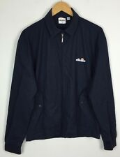 VINTAGE RETRO 90s ELLESSE HARRINGTON BOMBER JACKET COAT SPORTS UK S