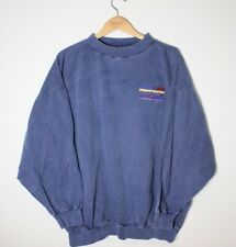 Rare Vintage Vancouver Indy Molson Sweater Stitched Embroidered Mens XL Blue