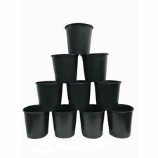 5 Gallon Nursery Pots Plastic Outdoor Flower Garden Vegetable Plant Pot 10-Pack