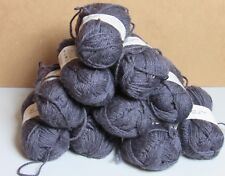 10 Skeins Lambs Pride Superwash Brown Sheep Co SW42 Moods 100% Wool Gray 1000 Yd