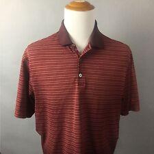 Nike Golf Dri-Fit Men's Short Sleeve Polo Shirt Size L #B0055 EUC