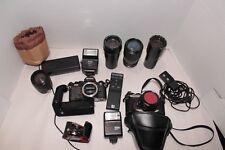 Nikon FM2 & FM10 Camera Lot Untested Parts
