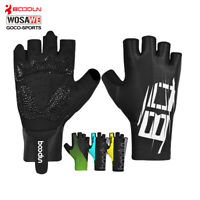 Gel Pad Cycling Gloves Half Finger MTB Bike Bicycle Mittens Breathable Summer