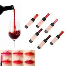 6x Lovely Red Wine Bottle Shape Lip Tint Long Lasting Moisturizing Lip Gloss