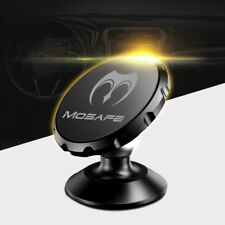 Universal 360° Magnetic Car Mount Holder Dash Board Stand For Cell Phone Black