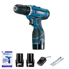 16.8V Rechargeable Electric Screwdriver Cordless Drill Power+2X Li-Battery