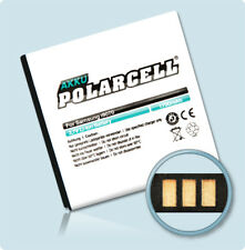 PolarCell Akku für Samsung Galaxy S Advance GT-i9070 EB535151VU Batterie Accu