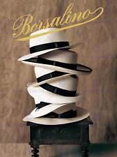 Publicidad Sombreros Fieltro Fedora Borsalino Chapeaux Art Print cartel BB7287