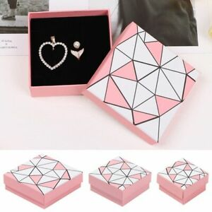 with Sponge Earrings Ring Gift Bag Gift Box Jewelry Packaging Box Carton