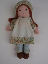 Vintage 1970s Holly Hobbies Friend Heather Cloth Fabric Doll Knickerbocker Toy