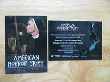 2013 BREYGENT AMERICAN HORROR STORY ASYLUM USA PROMO CARD PHILLY SHOW