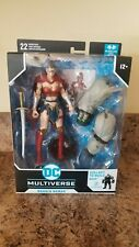 Mcfarlane Dc Multiverse Wonder Woman Bane Baf Figure In Hand!