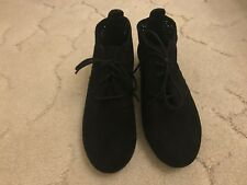 Graceland Damen Schuhe Stiefeletten Schnürschuhe schwarz Gr. 36