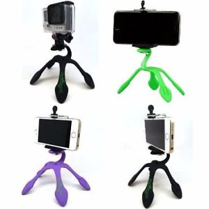 GekkoPod Tripod Mount for Smartphones GoPro Cameras Attaches To Almost Anything