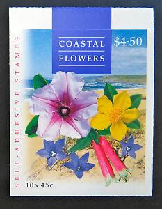 Australian Stamps: 1999 - Nature of Australia Booklet - Coastal Flowers Original