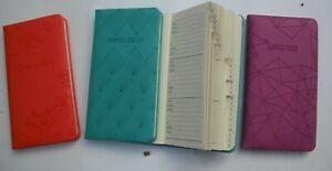 Pocket Handbag size Soft Padded A-Z Address Telephone Book- 3 Designs-You Choose
