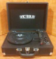 Victrola Portable Bluetooth Turntable Model VSC-550BT Black