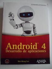 ANDROID 4 - Desarrollo de Aplicaciones - ANAYA - Wei-Meng Lee !!!! NUEVO !!!!