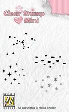 Motiv-stempel Clear stamp Schneeflocke Stern Himmel Regen Nellie Snellen MAFS013
