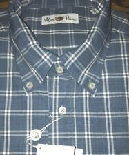 Alan Paine England mens plaid shirt NWT $140 sz M
