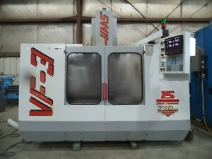 1996 HAAS MODEL VF-3, VERTICAL MACHINING CENTER, VMC, W/ NEW SPINDLE IN 2018