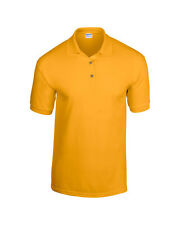 Men's Polo Shirt DryBlend™ jersey knit Short Sleeves Casual Polo Top New