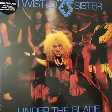 Twisted Sister - Under The Blade(180g LTD. Coloured Vinyl 2LP) 2011 Plastic Head