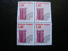 FRANCE - timbre yvert et tellier preoblitere n° 218 x4 n** (dent 13) (A24)