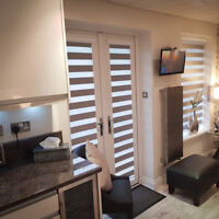 Day & Night Perfect Fit Blinds - Made to measure - French Doors Only - Rainbow