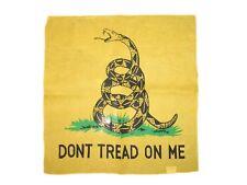 55.9cmx55.9cm AMARILLO Gadsden (Amarillo Serpiente) Don't Tread On Me Té BANDANA